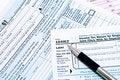 Free 1040EZ Forms Stock Photo - 4080110