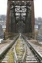 Free Railroad Bridge Royalty Free Stock Photo - 4082055