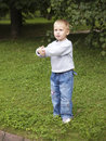 Free Child Plays In Park Stock Image - 4088861