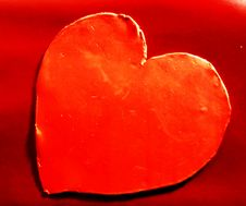 Free Red Love Heart Stock Photography - 4080022