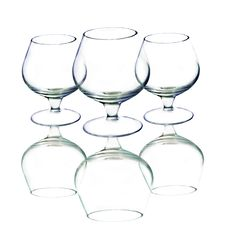 Free Empty Wine Glasses Royalty Free Stock Image - 4080116