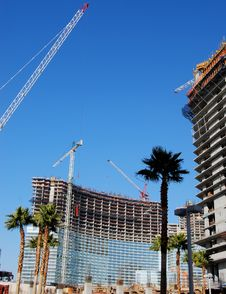Free Construction In Paradise Stock Image - 4080601