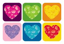 Free Decorative Valentines Stock Photography - 4080922