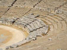 Free Ancient Theater Royalty Free Stock Photography - 4081077