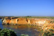 Great Ocean Cliffs Stock Photo
