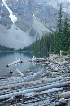 Free Moraine Lake Stock Photo - 4081480