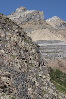 Free Plain Of Six Glaciers Trail Stock Photos - 4081513