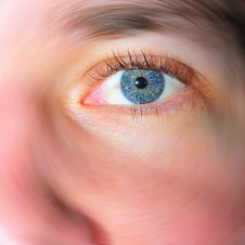 Free Eye Blur Royalty Free Stock Photography - 4081607