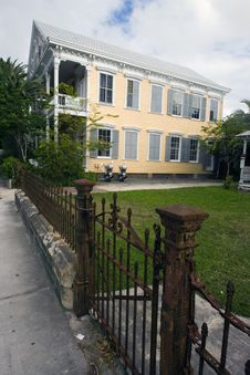 Free House In Key West Stock Images - 4082054