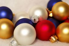 Free Christmas Ornaments Stock Image - 4082241