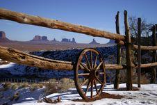 Free Monument Valley Stock Photo - 4082260