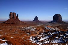 Free Monument Valley Royalty Free Stock Image - 4082276