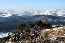 Free Altai Mountain With Snow Royalty Free Stock Image - 4083266