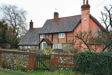 Free Timber Framed English Village Cottage Stock Photos - 4083963
