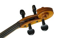 Old Fiddle With Path Royalty Free Stock Images