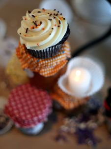 Free Cupcakes Royalty Free Stock Photos - 4084698