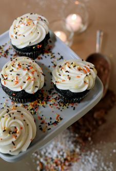 Free Cupcakes Stock Photography - 4084862
