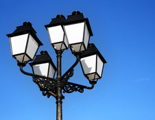 Free Ornate Street Lamps Stock Photography - 4085022