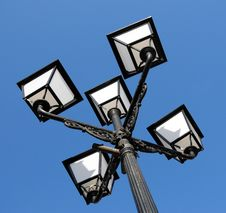 Free Ornate Street Lamps Stock Image - 4085051
