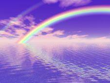 Free Beautiful Rainbow Royalty Free Stock Image - 4085096