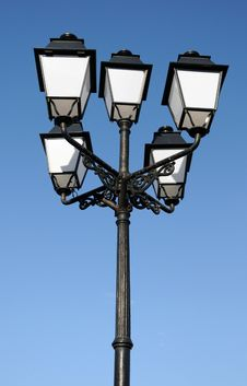Free Ornate Street Lamps Stock Photo - 4085110