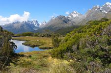 Free Routeburn Track Landscape Royalty Free Stock Images - 4085339
