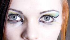 Free Bright Make-up Stock Image - 4087741