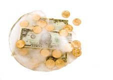 Free Frozen Cash Royalty Free Stock Images - 4088149