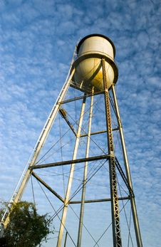 Free Water Tower Royalty Free Stock Photos - 4088178