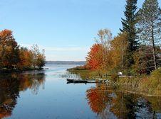 Free Autumn Reflections Stock Image - 4088361