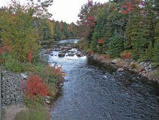 Free Autumn On The River Stock Photos - 4088383