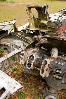 Free Scrap Metal Pile Royalty Free Stock Photography - 4088817