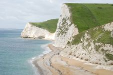 Free Bat S Head Coastline, Durdle Door, Dorset. Royalty Free Stock Photos - 4088848