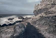 Free Northern California Coast In Infrared Stock Images - 4088914