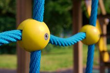 Free Climbing Frame Ball 2 Stock Photo - 4089240