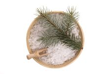 Free Pine Bath Items. Alternative Medicine Stock Image - 4089681