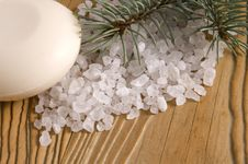 Free Pine Bath Items. Alternative Medicine Stock Images - 4089744