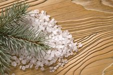 Free Pine Bath Items. Alternative Medicine Stock Photography - 4089772