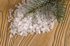 Free Pine Bath Items. Alternative Medicine Royalty Free Stock Image - 4089776