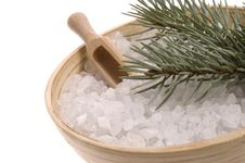 Free Pine Bath Items. Alternative Medicine Stock Photo - 4089870