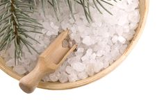 Free Pine Bath Items. Alternative Medicine Royalty Free Stock Image - 4089876