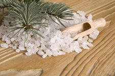 Free Pine Bath Items. Alternative Medicine Stock Photography - 4089882