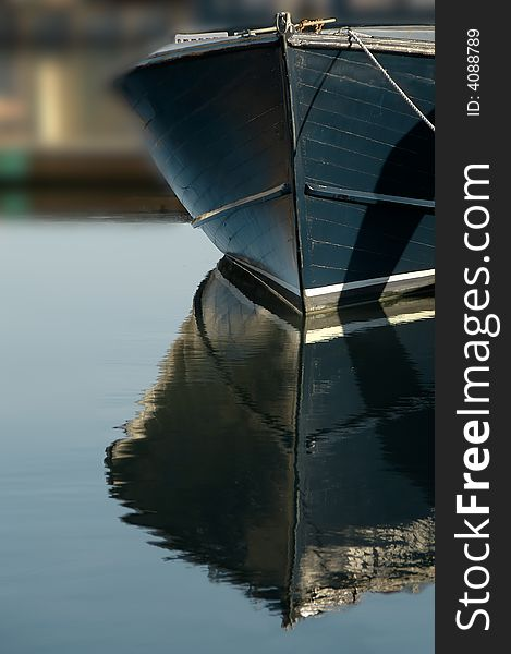 Boat Bow Reflections