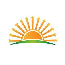 Free Sunrise With Arrows Over Verizon Logo Image Stock Image - 40859261