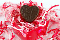 Free Chocolate Heart Stock Photo - 4090490