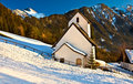 Free Winter Church Stock Photo - 4096250