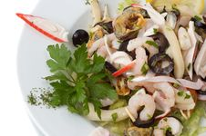 Shrimp And Mussel Salad