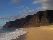 Kauai Beach Stock Photo