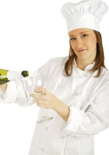 Champagne Time Stock Photo