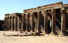 Free Temple Of Philae. Stock Photography - 4092232